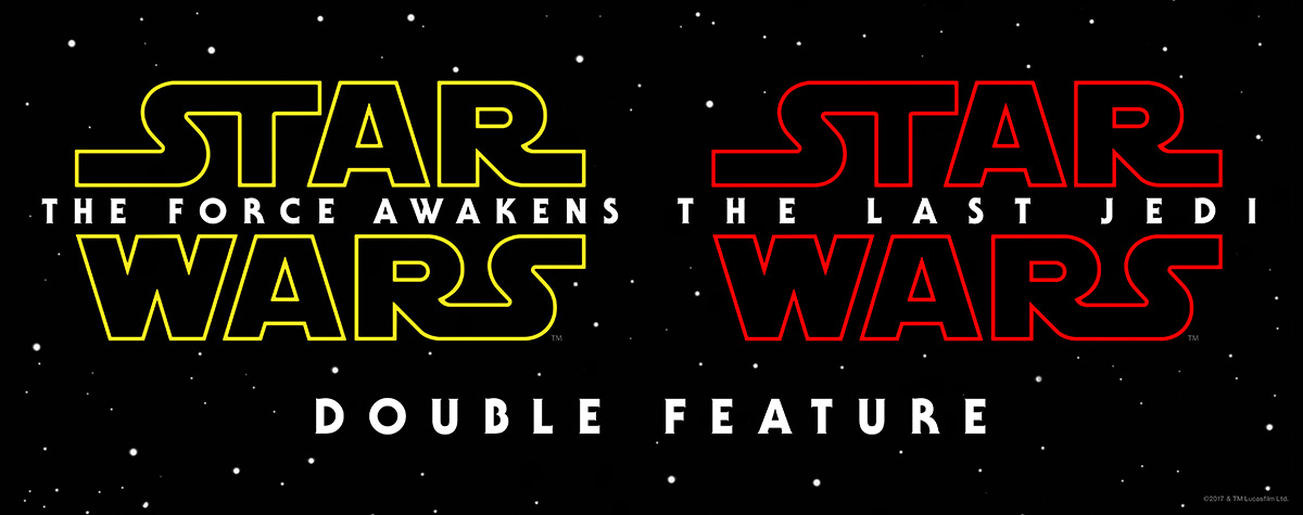 See The Star Wars Double Feature!