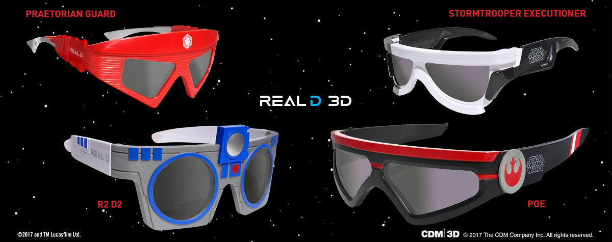 Exclusive Cinemark Connections Rewards Including RealD 3D Star Wars Glasses