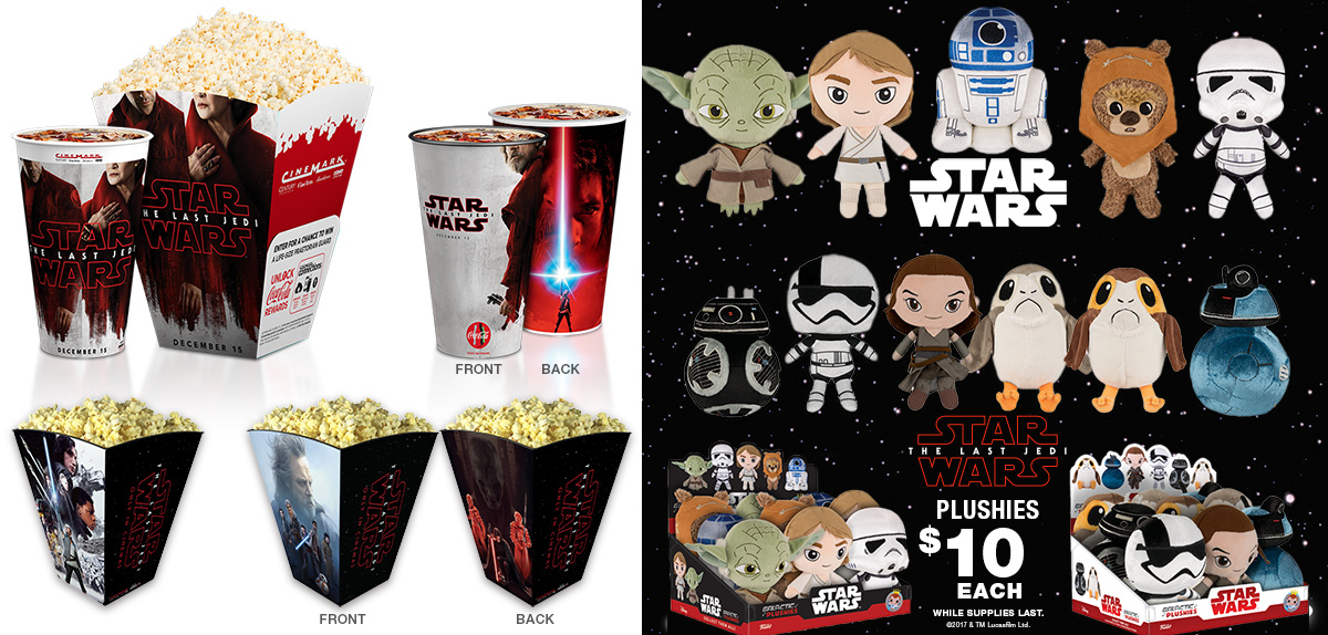 Star Wars: The Last Jedi Concession Offers
